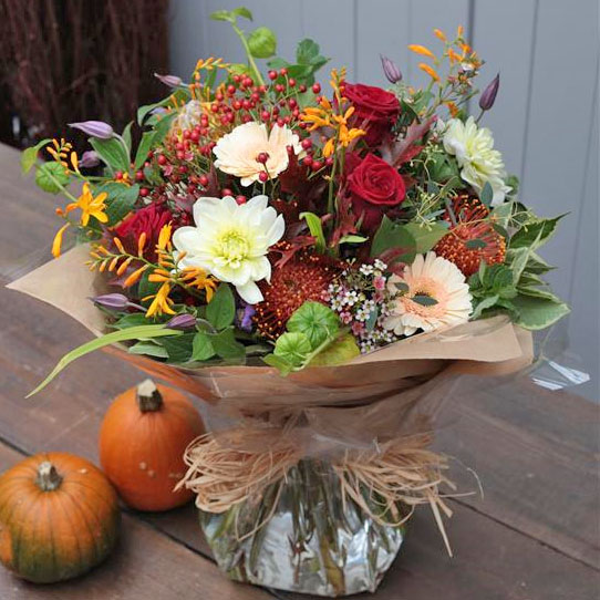 Ginger Lily Collection - Beautiful Bouquet of Autumnal Haze