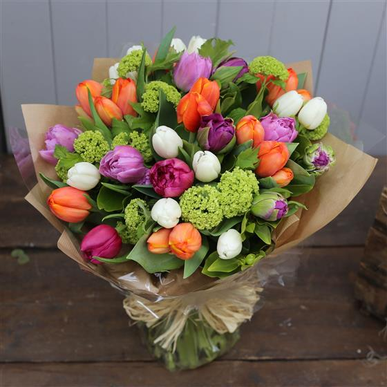 Ginger Lily Collection - A Beautiful Tulip Bouquet