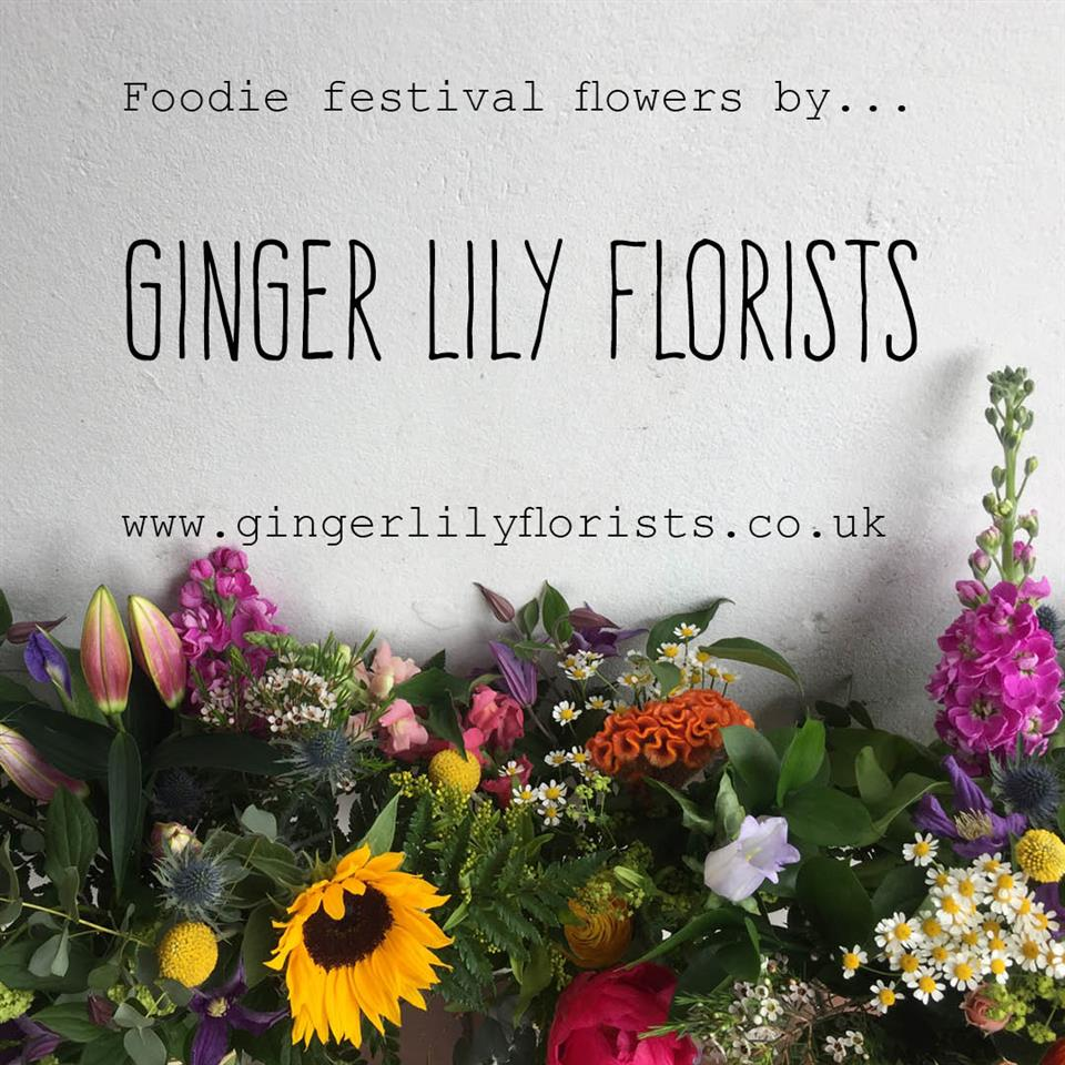Angelas blog ginger lily florists brighton news uks biggest celebration of food drink wellbeing foodies festival to dress their vip tent at this long weekends festival at hoves lawn brighton izmirmasajfo